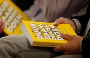 De lancering Van het boek Duurzaam Denken